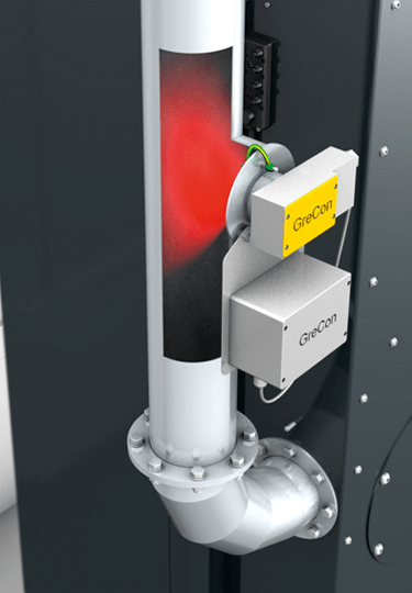 Using dry separators can require fire and explosion protection measures such as ProSens ignition source monitoring.